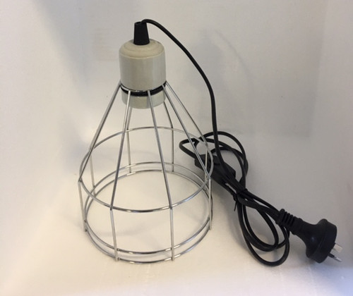 "Clamp Lamp 5.5"" with cage cover **special price**"