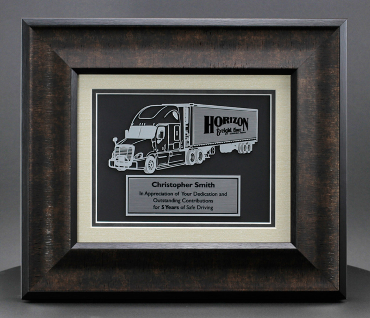 Frame Truck Driver Awards and Gifts to Impress, Free Engraving | 29FRT-2