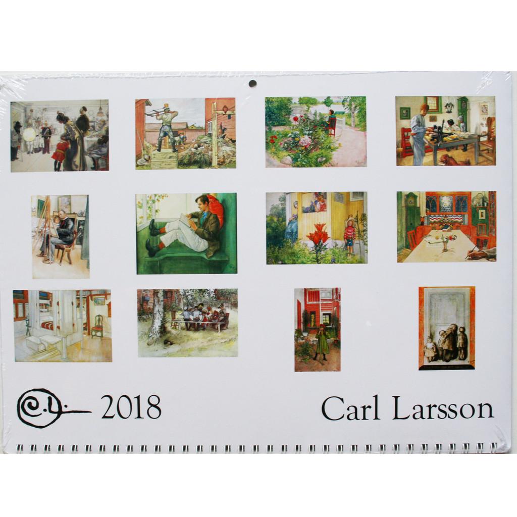 2018 Carl Larsson Calendar details