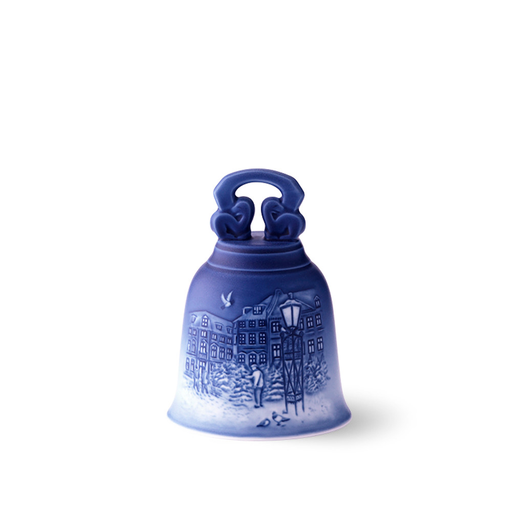 2018 Royal Copenhagen Christmas Bell, available at The Nordic Shop