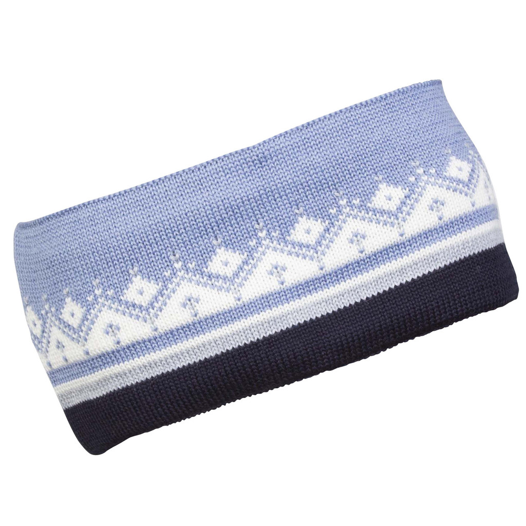 Dale of Norway, Lahti/St. Moritz Unisex Headband in Navy/Blue Shadow/ Off White, 23091-D