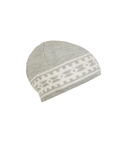 Dale of Norway Alpina Hat - Light Charcoal/Cream, 45531-E
