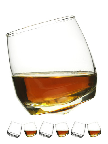 Sagaform - Rocking Whiskey Glass - Set of 6