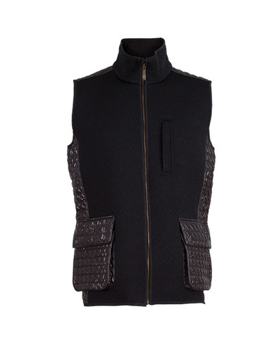 Dale of Norway Jeger Knitshell Vest, Mens - Black, 85061-F