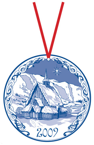 2009 Stav Church Ornament - Oye