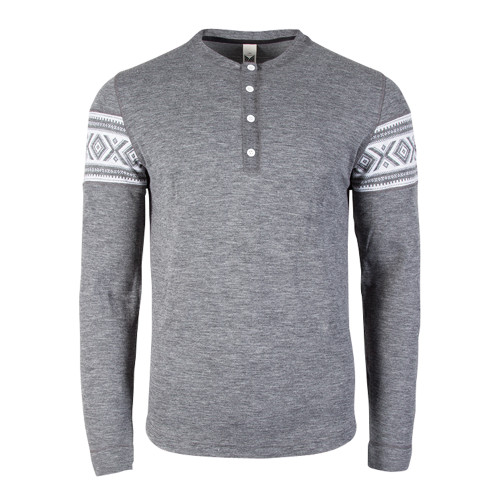 Dale of Norway Bykle Sweater, Mens - Smoke/White, 93211-E