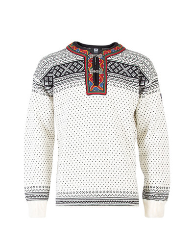 Dale of Norway Setesdal Pullover - Off White/Black, 90381-A
