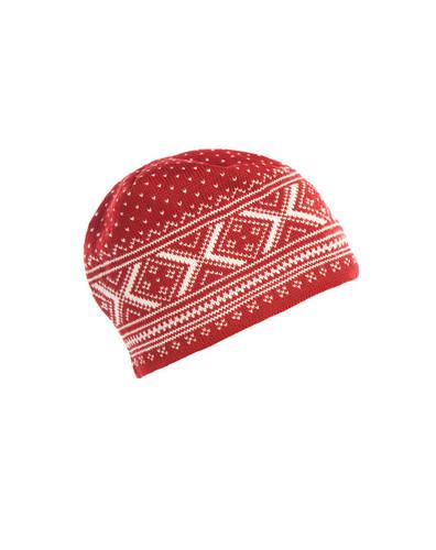 Dale of Norway Vintage Hat, Ladies - Red Rose/Off White, 40251-B