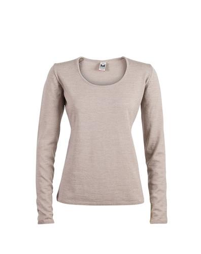Dale of Norway Astrid Sweater, Ladies - Beige Mel, 92432-P