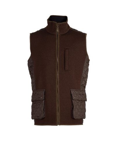 Dale of Norway Jeger Knitshell Vest, Mens - Mocca, 85061-R