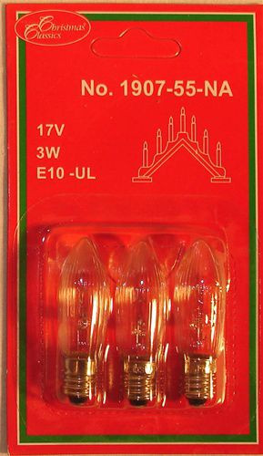 Swedish 7-Light Candelabra Replacement Lightbulbs