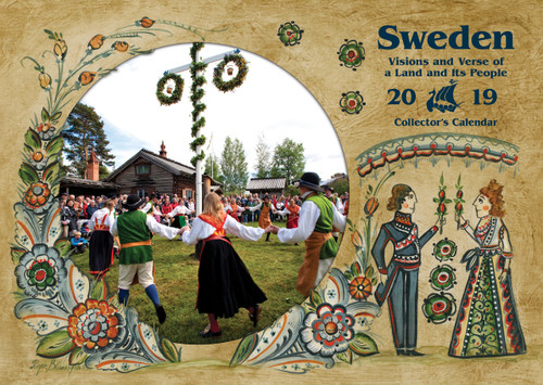 2019 Sweden Visions and Verse Calendar - Paulstad