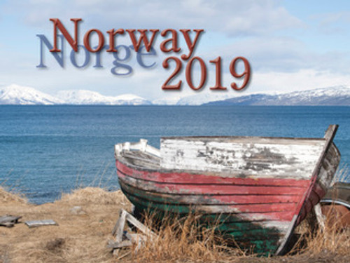 2019 Nordiskal Norway Calendar in Photographs - Front Cover