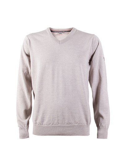 Dale of Norway Harald Sweater, Mens - Beige Melange, 92412-P