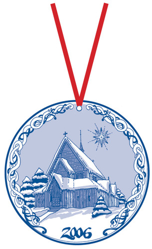 2006 Stav Church Ornament - Reinli