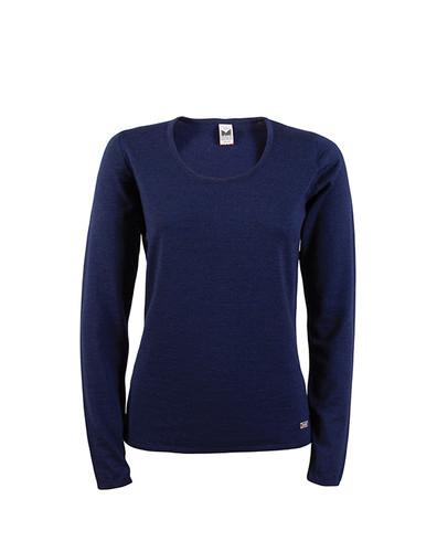 Dale of Norway Astrid Sweater, Ladies - Navy Mel, 92432-C