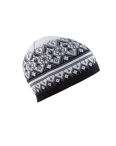 Dale of Norway Rondane Hat -  Black/White Mel, 47951-F