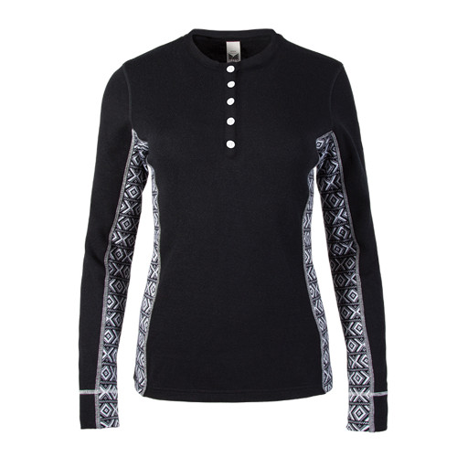 Dale of Norway Bykle Shirting, Ladies - Black/White, 93201-F