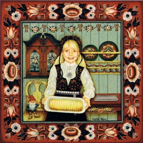 Suzanne Toftey Tile - Almond Cake Baker