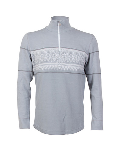 Dale of Norway Rondane Pullover, Mens - Light Grey/White Mel/Dark Grey, 92691-E