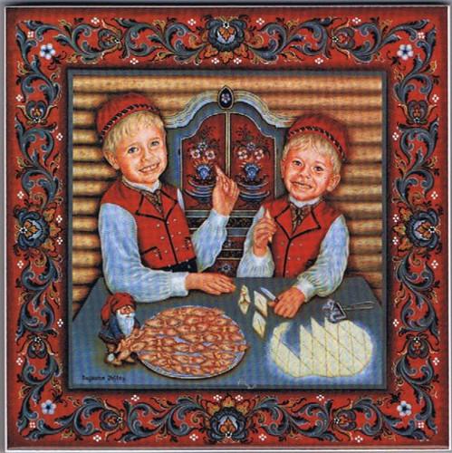 Suzanne Toftey Tile - Fattigmann Boys