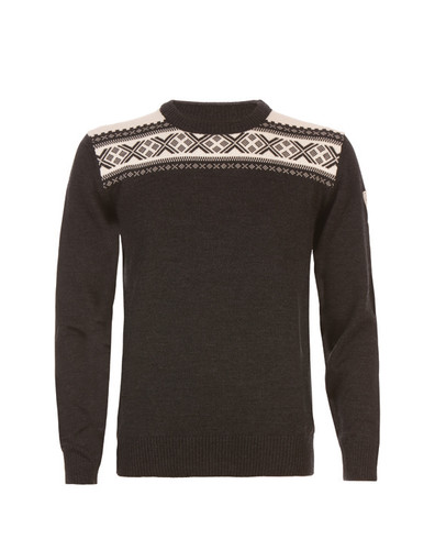 Dale of Norway Hemsedal Sweater, Mens - Dark Charcoal/Off White, 91961-E