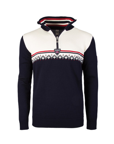 Dale of Norway, Lahti, Mens, Navy/Raspberry/Off White, 93241-C