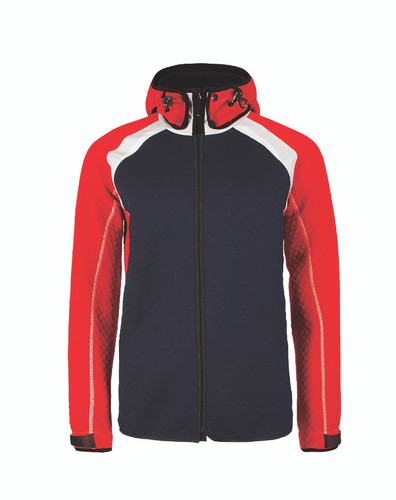 Dale of Norway Jotunheimen Knitshell Jacket, Mens - Navy/Raspberry/Off White, 85151-K