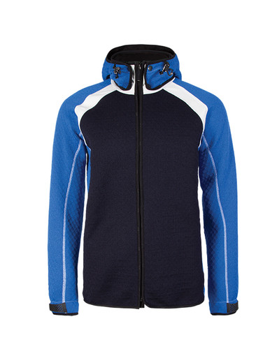 Dale of Norway Jotunheimen Knitshell Jacket, Mens - Navy/Cobalt/Off White, 85151-H