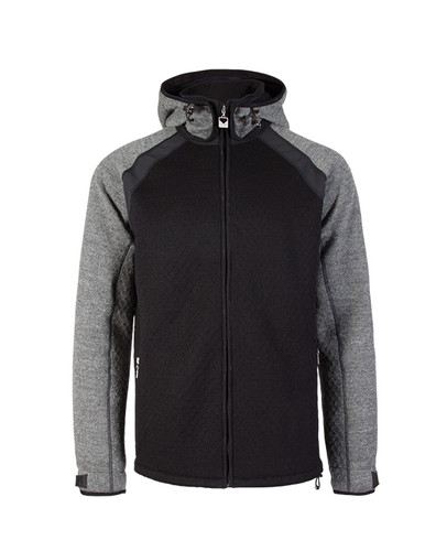 Dale of Norway Jotunheimen Knitshell Jacket, Mens - Black/Smoke, 85151-E