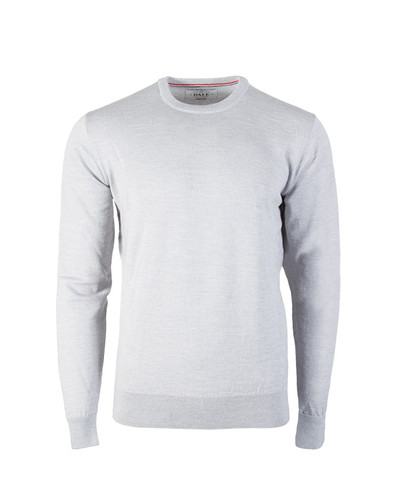 Dale of Norway Magnus Sweater, Mens - Light Grey Melange, 92402-E