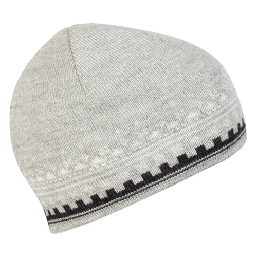 Dale of Norway, Anniversary Unisex Hat in Light Charcoal/Dark Charcoal/Off White, 47931-T
