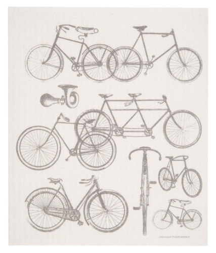 Swedish Dishcloth - Bicycles
