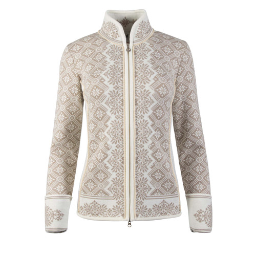 Dale of Norway Christiania Cardigan, Ladies - Off White/Beige, 81951-P