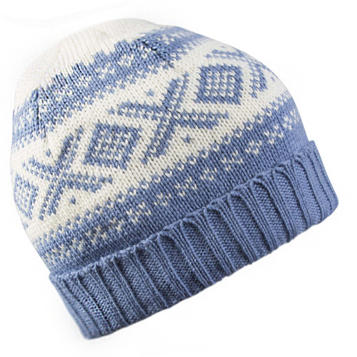 Dale of Norway Cortina 1956 Hat - Blue Shadow/Off White, 42261-H