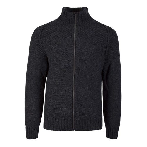 Dale of Norway Gudmund Cardigan, Mens - Dark Charcoal, 83221-E