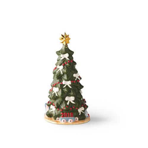 Royal Copenhagen 2018 Annual Christmas Tree Figurine