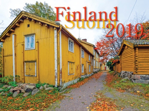 2019 Finland Calendar in Photographs - Nordiskal