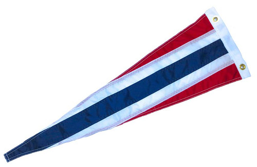 "Norwegian Vimple Flag - 84"" - Large"
