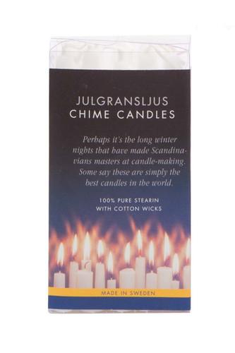 Swedish Angel Chime Candles, White