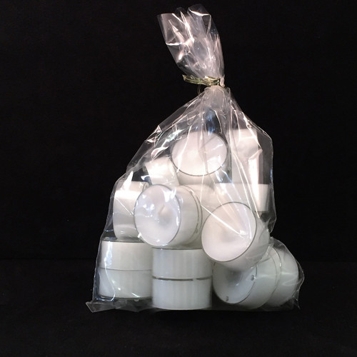 Danish Stearin Tealight Candles, Bag of 18