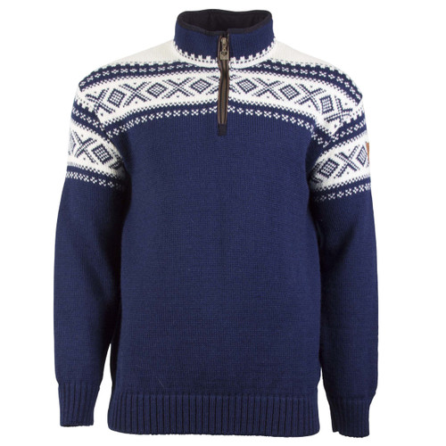 Dale of Norway Cortina Half Zip Sweater - Navy/Off-White, 93561-C
