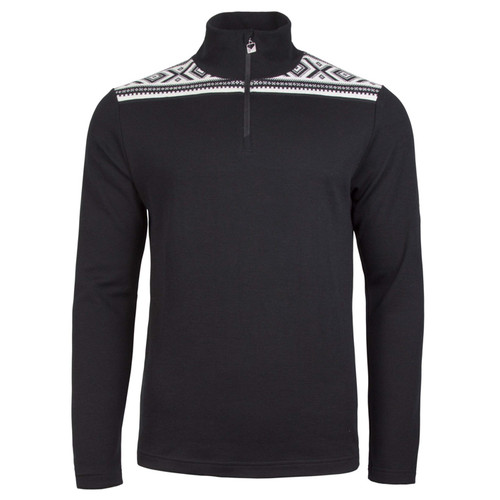 Dale of Norway Cortina Basic Sweater, Mens - Black/Off-White,  93531-F