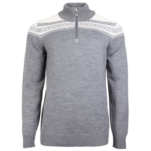 Dale of Norway Cortina Merino Sweater, Mens - Black/Off-White, 93821-E