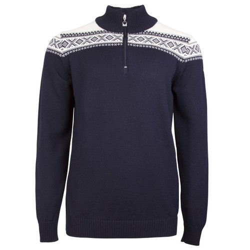 Dale of Norway Cortina Merino Sweater, Mens -  Navy/Off-White, 93821-C