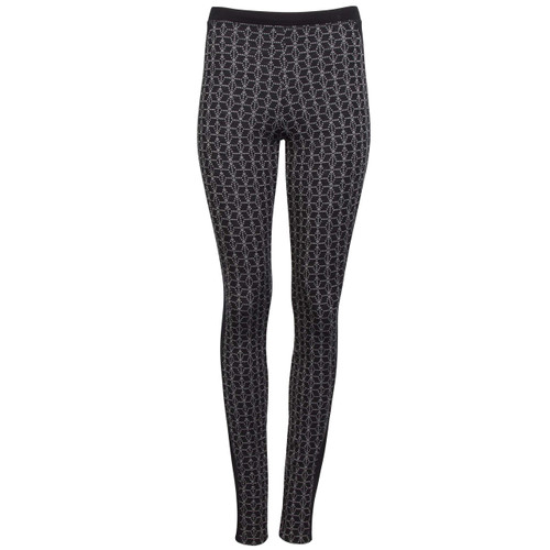 Dale of Norway Stjerne Leggings, Ladies - Black/White, 62021-F