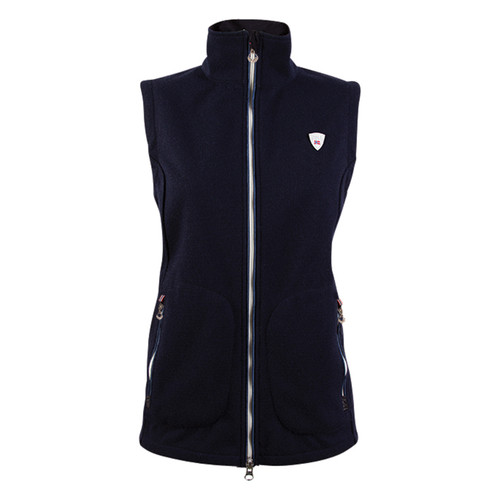 Dale of Norway Hafjell Knitshell Vest, Ladies - Navy, 82881-C