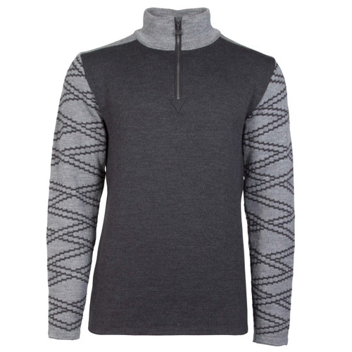 Dale of Norway Balder Pullover, Mens - Dark Charcoal/Smoke, 93671-E