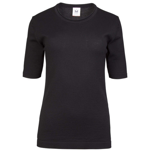 Dale of Norway Stjerne T-shirt, Ladies - Black/Charcoal, 93741-F