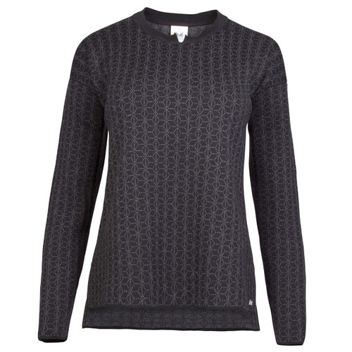 Dale of Norway Stjerne Sweater, Ladies - Black/Dark Charcoal, 93761-F